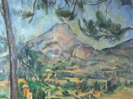 La Montagne Sainte-Victoire (1885-1887) -Courtauld Institute of Art, Londres