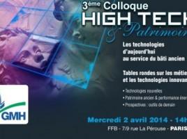 colloque High tech et patrimoine - 2014