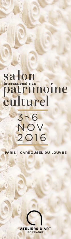 Salon international du patrimoine culturel 2016 for Salon du patrimoine