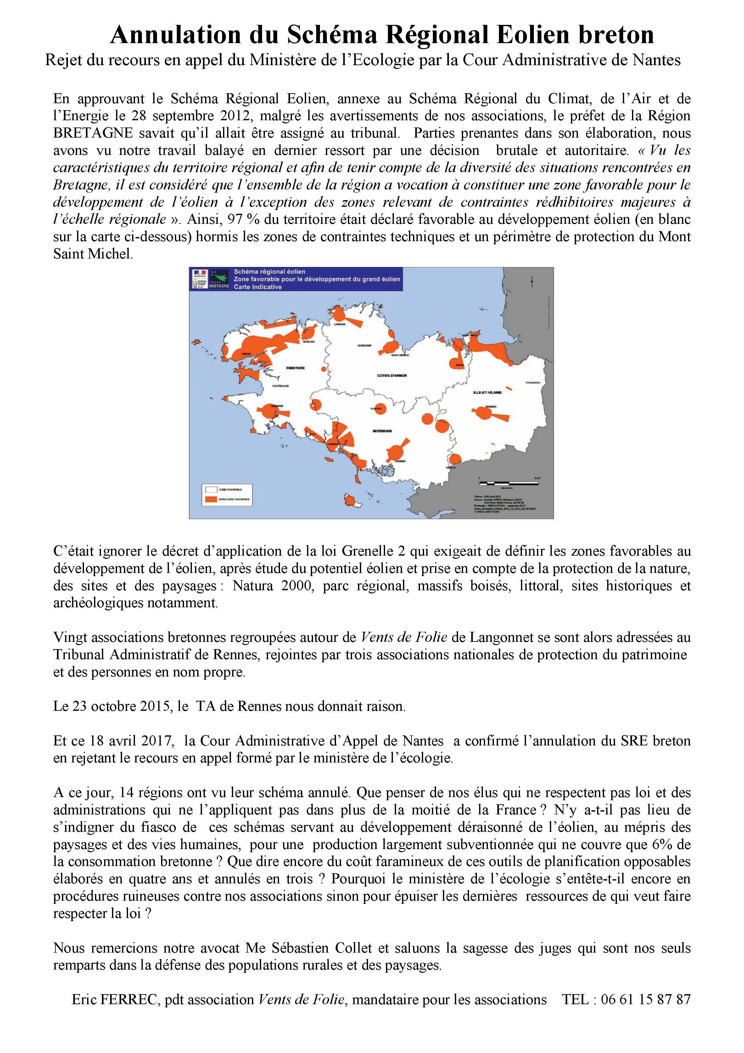 SRE Bretagne communique associations