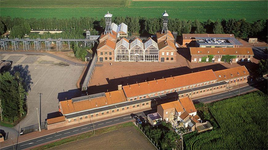 Vue aérienne Centre Historique Minier
