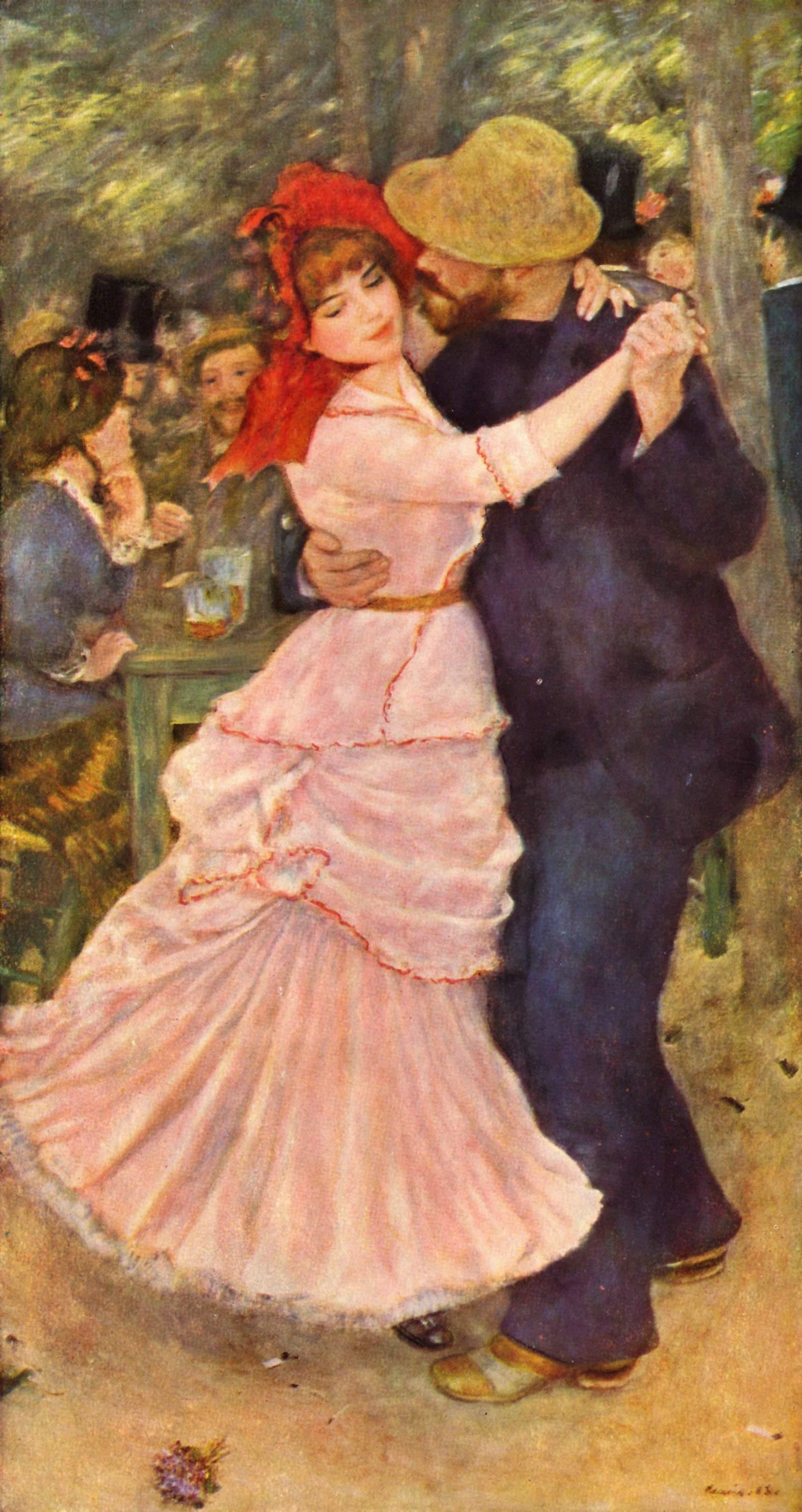 danse à bougival renoir