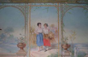 restauration peintures murales viviers