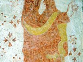 peinture mural saint pierre saint paterne de montrond
