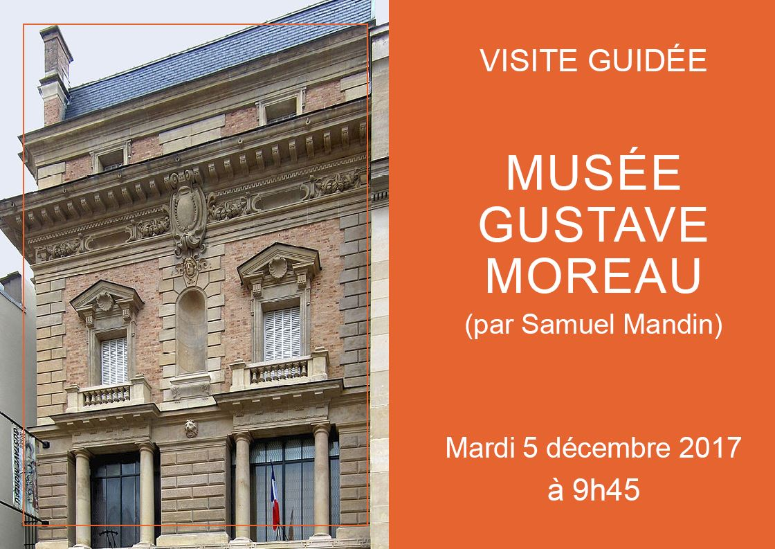 visite guidee gustave moreau