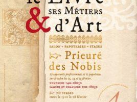 Affiche salon du livre Montreuil Bellay