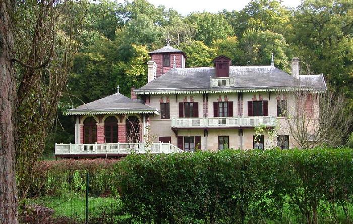Le pavillon Eugénie