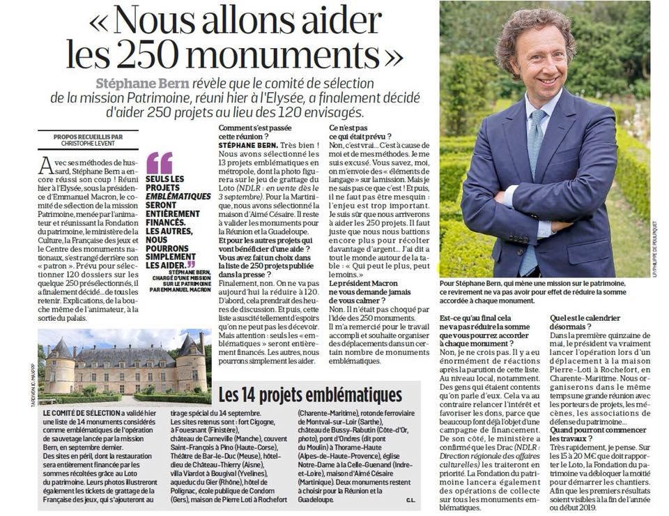 article parisien stéphane bern