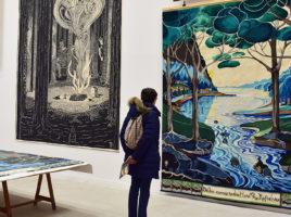 exposition de la premiere tapissere