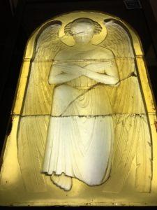 Vitrail de René Lalique dans l'Eglise St Nicaise